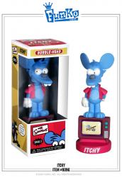 FUWSIMP2ITCHY-SIMPSONS 2 ITCHY WACKY WOBBLER