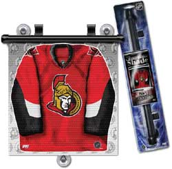 JERSEY WINDOW SHADE SENATORS