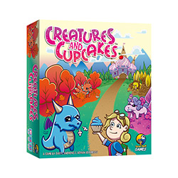 GFG96723-CREATURES AND CUPCAKES GAME