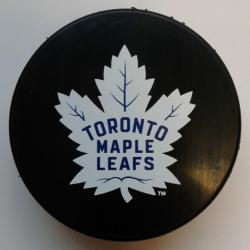 IBPTML-BASIC PUCK MAPLE LEAFS