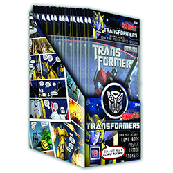 IDW00598-TF MICRO COMIC FUN PK DISP(24)