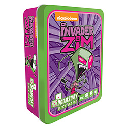 IDWG01425-INVADER ZIM DICE GAME