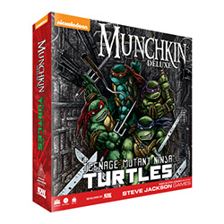 IDWG01575-MUNCHKIN TMNT DELUXE GAME