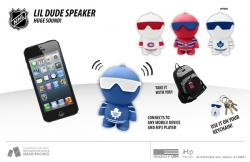 NHL LIL DUDE SPEAKER - FLAMES