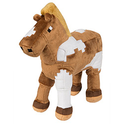 JX6358-MINECRAFT PLUSH HORSE