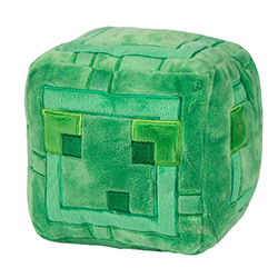 JX6359-MINECRAFT PLUSH SLIME 9.5