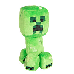 JX7832-MINECRAFT PLUSH CREEPER