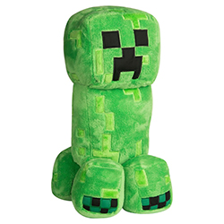 JX7842-MINECRAFT PLUSH GRAND CREEPER
