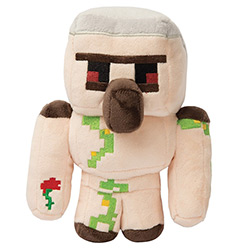 JX7846-MINECRAFT PLUSH IRON GOLEM