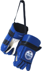 KLHMHGEO-MINI HOCKEY GLOVES OILERS(6)