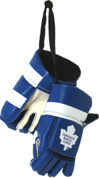 KLHMHGTML-MINI HOCKEY GLOVES LEAFS(6)