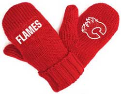 KLHPOMIYCF-NHL PODIUM MITTS (Y) FLAMES 12