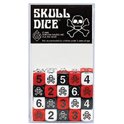KP00524-SKULL DICE 16MM ASSORTMENT