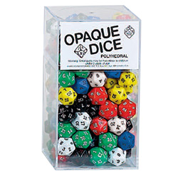 KP02828-OPAQUE D20 100PC ASSRT BOX