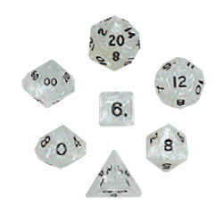 KP02960-PEARLIZED POLYHEDRAL 7PC GRAY