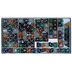 KP03199-GLITTER D10 100PC SAMPLER BOX