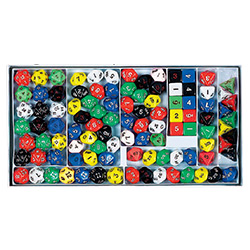 KP03202-D10 OPAQUE DICE SAMPLER BOX