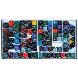 KP04345-ELEMENTAL DICE SAMPLER BOX