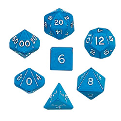 KP05856-JUMBO POLYHEDRAL 7PC BLUE
