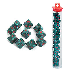 KP08538-D10 ANKH DICE 10PC