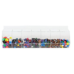 POLYHEDRAL 950pc DICE DISPLAY