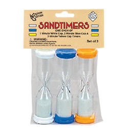 KP11698-SAND TIMER 3PC SET