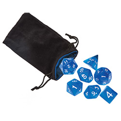 KP19066-JUMBO DICE GIFT SET BLUE