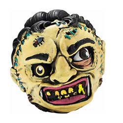 KR14989-MADBALLS FOAM LEATHERFACE