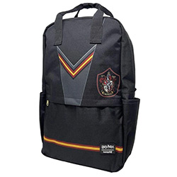 LFHPBK0078-LOUNGEFLY HARRY POTTER GRYFFINDOR NYLON BACKPACK