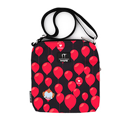 LFITTB0001-LOUNGEFLY IT BALLOONS NYLON PASSPORT BAG