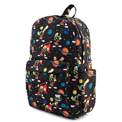LFLTBK0002-LOUNGEFLY LOONEY TUNES MARVIN NYLON BACKPACK