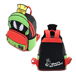 LFLTBK0003-LOUNGEFLY LOONEY TUNES MARVIN COSPLAY BACKPACK