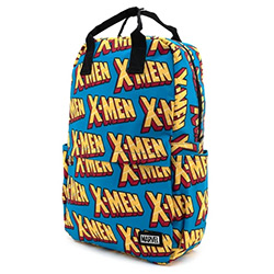LFMVBK0089-LOUNGEFLY MARVEL X-MEN LOGO NYLON BACKPACK