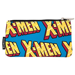 LFMVCB0027-LOUNGEFLY MARVEL X-MEN LOGO NYLON POUCH (2)