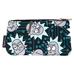LFRNMCB0016-LOUNGEFLY RICK & MORTY NYLON POUCH (2)
