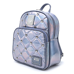 LFSTBK0150-LOUNGEFLY STAR WARS HOTH IRIDESCENT MINI BACKPACK
