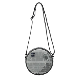LFSTTB0182-LOUNGEFLY STAR WARS DEATH STAR BAG W/ PIN