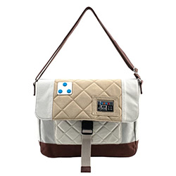 LFSTTB0183-LOUNGEFLY STAR WARS HOTH SATCHEL
