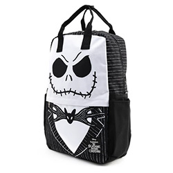 LFWDBK0980-LOUNGEFLY DISNEY NBX JACK SKELLINGTON NYLON BACKPK