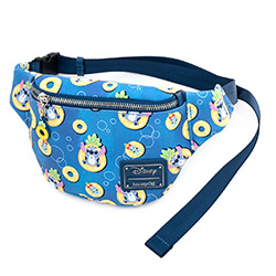 LFWDTB1916-LOUNGEFLY LILO & STITCH PINEAPPLE FANNY PACK