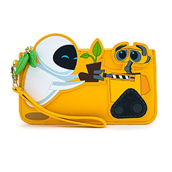 LFWDWA1185-LOUNGEFLY DISNEY WALL-E PLANT BOOT WALLET