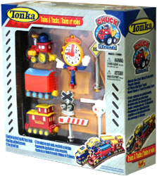 MAIS12499-MAISTO TONKA CHUCK TRAIN SET(4