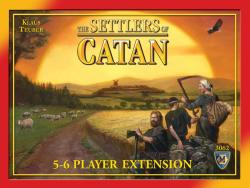 MFG3062-THE SETTLERS OF CATAN 5 & 6 PLAYER EXTENSION
