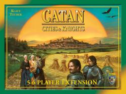 MFG3066-CATAN: CITIES & KNIGHTS 5-6 PLAYER EXTENSION