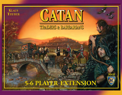 MFG3068-CATAN: TRADERS & BARBARIANS 5-6 PLAYER EXTENSION