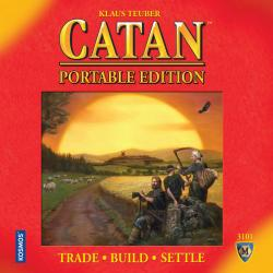 MFG3101-SETTLERS OF CATAN - PORTABLE EDITION
