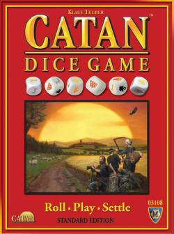 MFG3108-CATAN DICE GAME� STANDARD EDITION