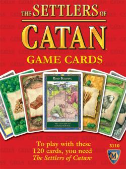 MFG3110-SETTLERS OF CATAN GAME CARDS