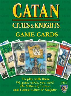 MFG3111-CITIES & KNIGHTS GAME CARDS