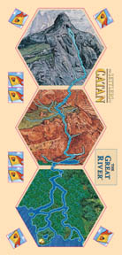 MFG3113-SOC GREAT RIVER OF CATAN TILE